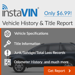 InstaVIN Vehicle History Reports